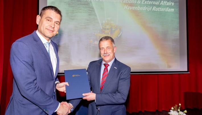 Port of Rotterdam verlengt contract met Stichting Wereldhavendagen